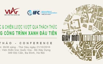 [21/10/16 HN] Conference: Build your first green project: strategies for early challenges