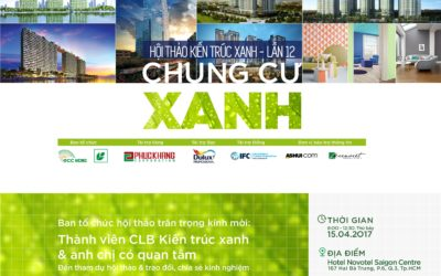 """[15/04/17 HCMC] The 12th """"Green Residential Building"""" Conference"""