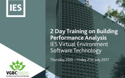 2-Day Training on Building Performance Analysis using IES Software Technology