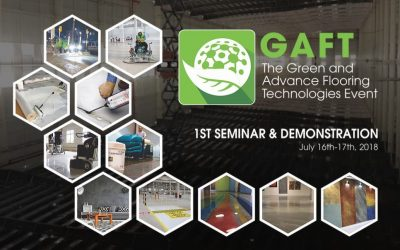 [HCMC, 16-17/07/2018] GAFT – The Green and Advance Flooring Technologies