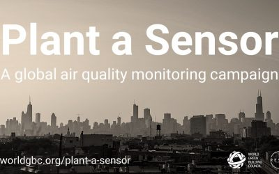 WorldGBC: Plant A Sensor – An initiative as part of the WorldGBC's Air Quality in the Built Environment Campaign