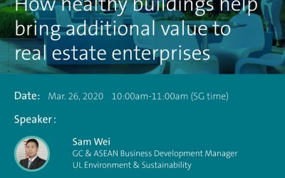 Webinar: How healthy buildings help bring additional value to real estate enterprises (26/3/2020)
