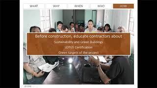Online Series, Phần 10: Quản lý dự án Công trình xanh