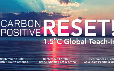 CarbonPositive RESET, a free full-day Teach-in by Architecture 2030, 22/9/2020 (Asia Pacific region)