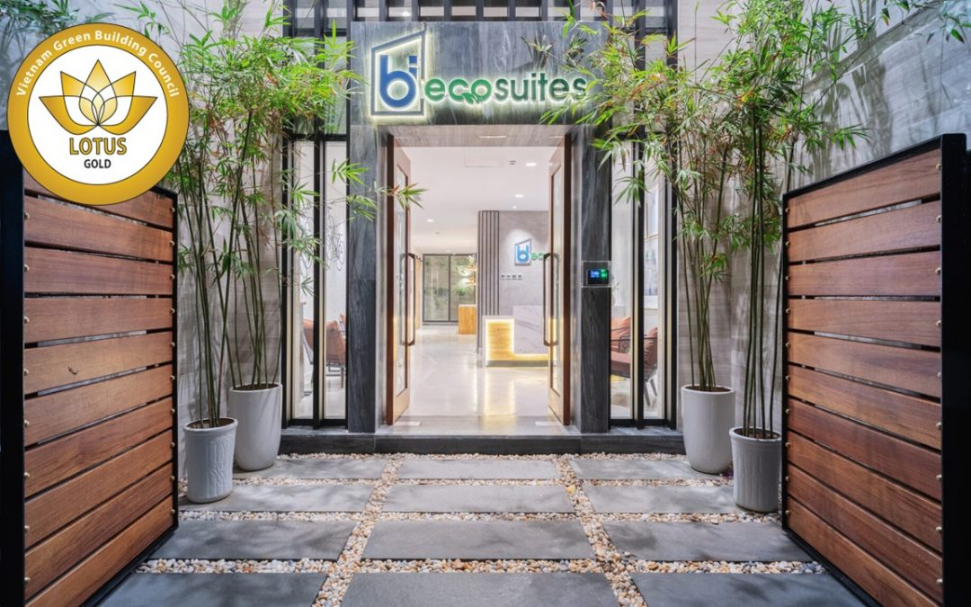 Terraced House Bi Eco Suites achieved LOTUS GOLD Certification, the first certified LOTUS Homes in Hanoi